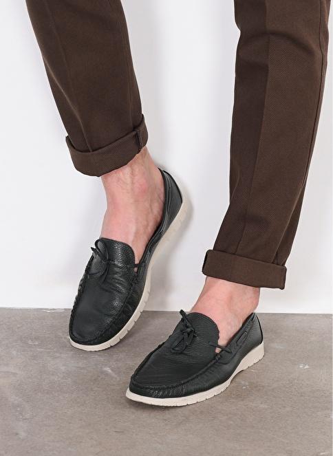 D by Divarese % 100 Deri Casual Ayakkabı Yeşil